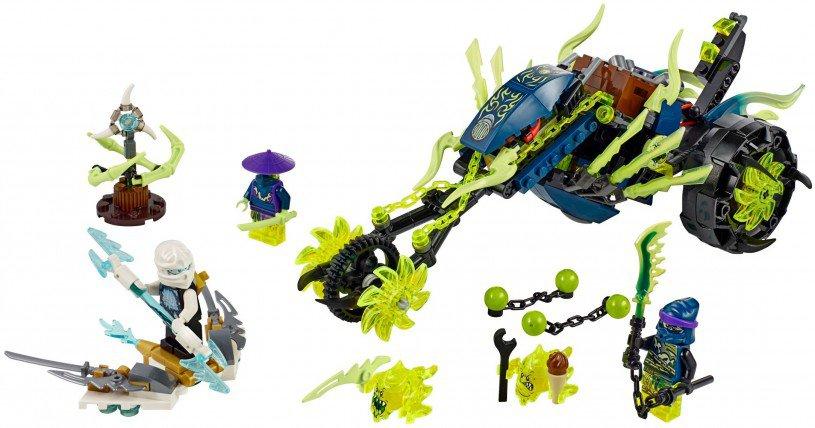 LEGO Ninjago 70730: Ketting Voertuig Hinderlaag
