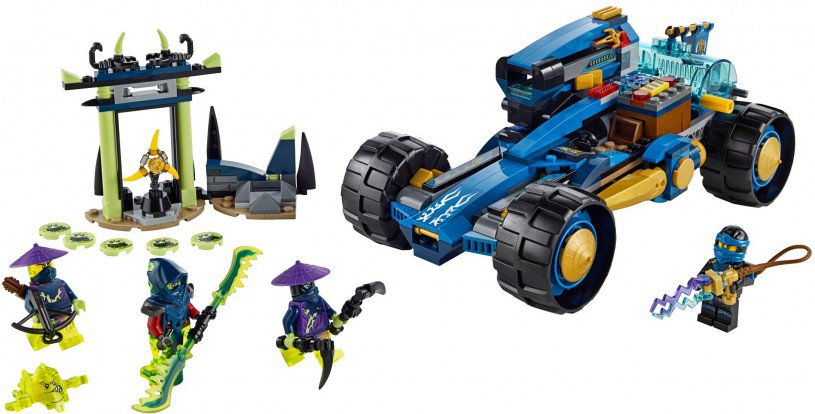 LEGO Ninjago 70731: Jay Walker One