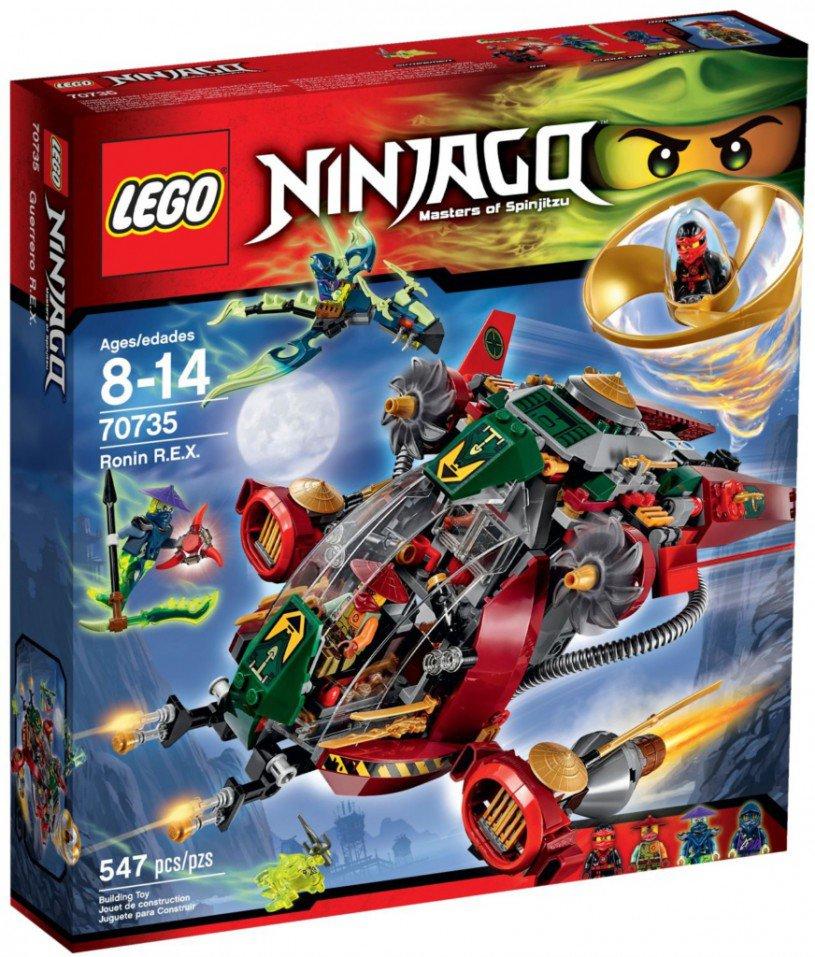 LEGO Ninjago 70735: Ronin's R.E.X.