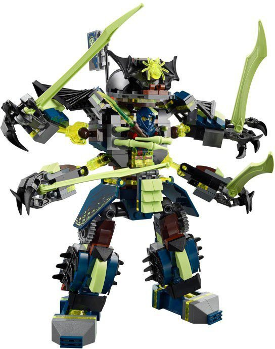 LEGO Ninjago 70737: Titanium Mecha Duel