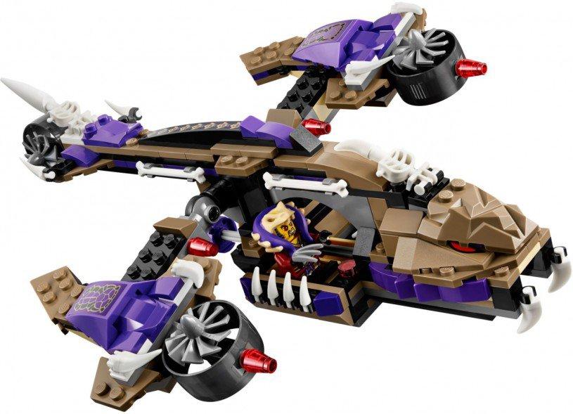 LEGO Ninjago 70746: Condrai Helikopteraanval