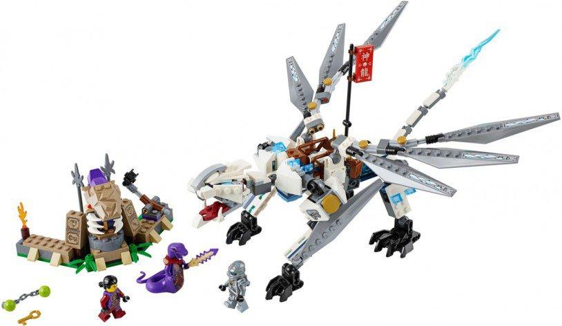 LEGO Titanium Draak Ninjago 70748
