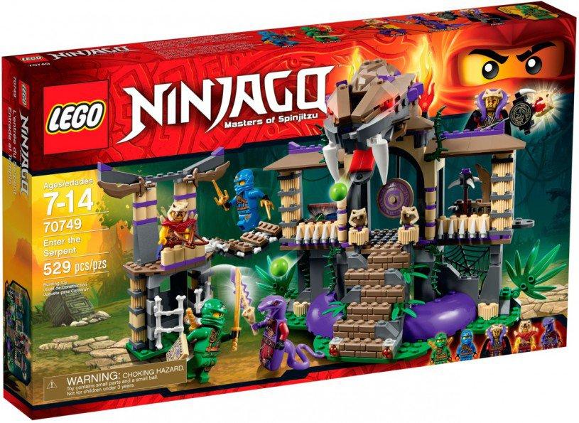 LEGO Ninjago Slangenpoort 70749