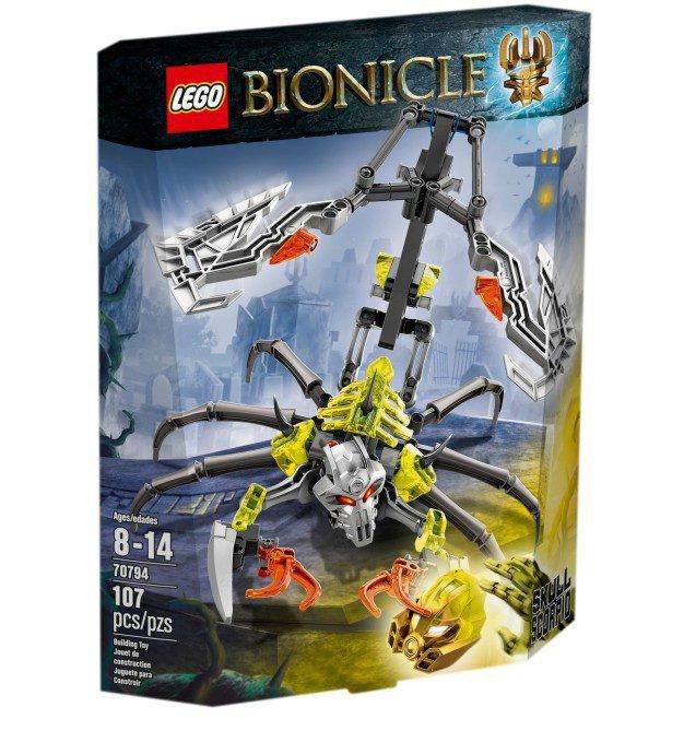LEGO Bionicle - Schedelschorpioen 70794