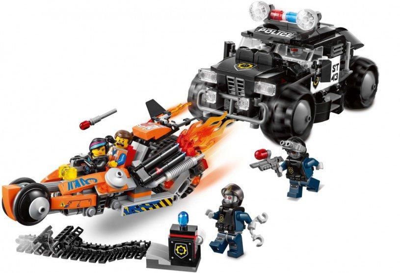 LEGO The LEGO Movie - Supermotor Achtervolging 70808