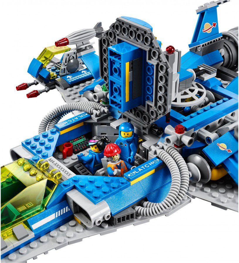 LEGO 70816 Benny's Spaceship, Spaceship, SPACESHIP!