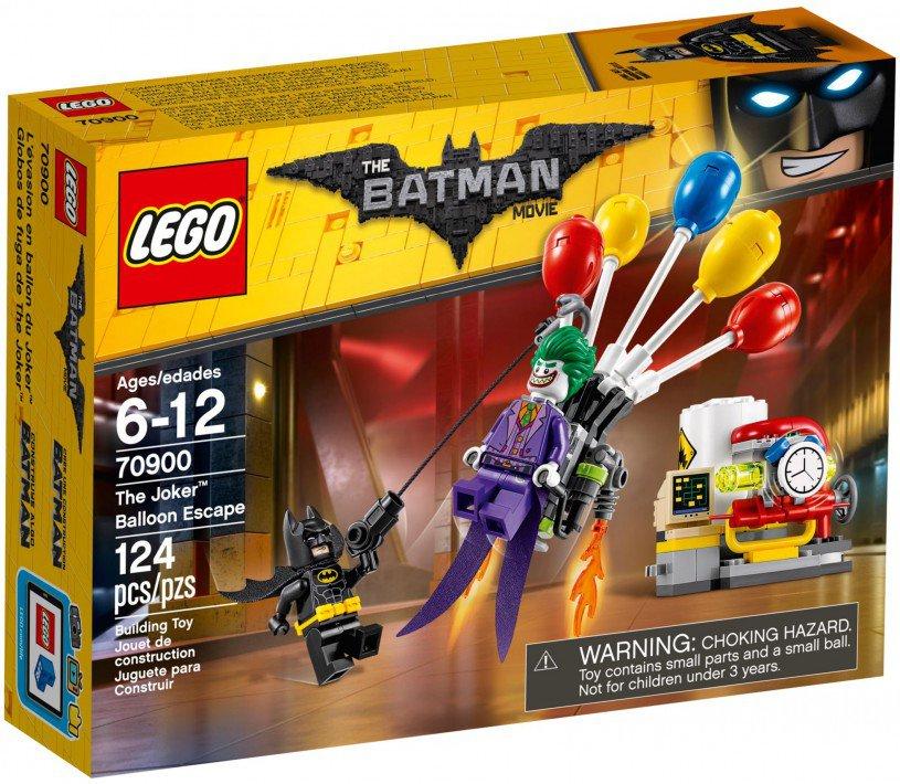 LEGO 70900 The Joker ballonvlucht doos voorkant