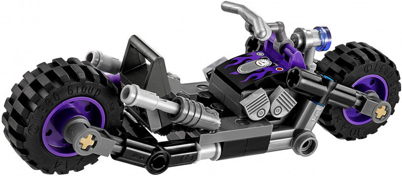 LEGO 70902 Batman Catwoman Catcycle achtervolging