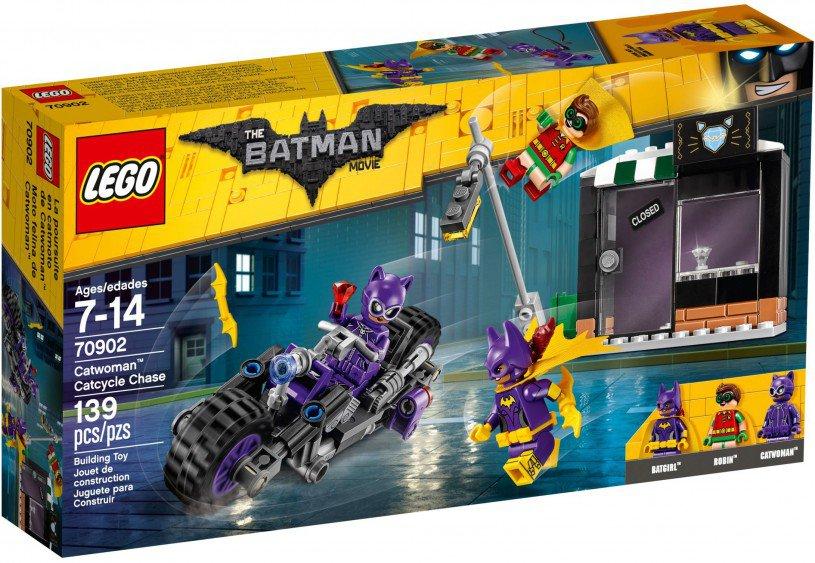 LEGO 70902 Catwoman Catcycle achtervolging doos