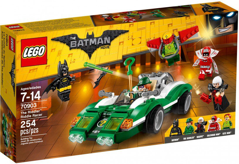 LEGO 70903 The Riddler raadsel-racer doos