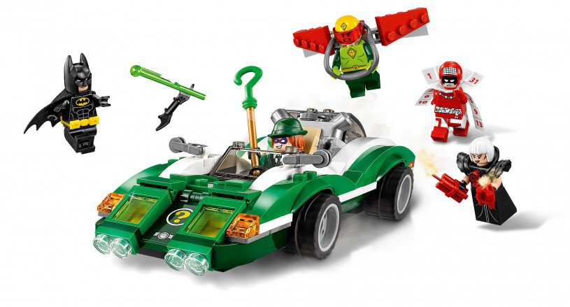 LEGO 70903 Batman The Riddler raadsel-racer