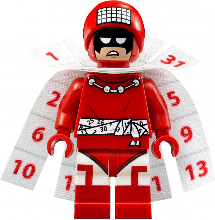 LEGO Minifigure Calendar Man