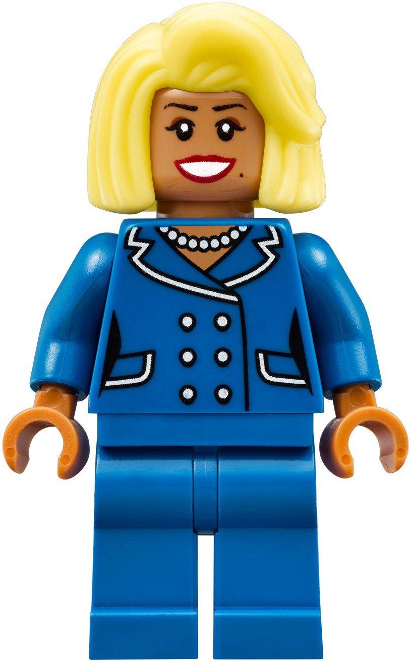 LEGO Minifigure burgemeester McCaskill