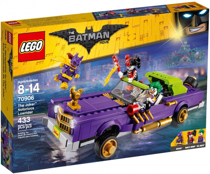 LEGO 70906 The Joker duistere low-rider doos