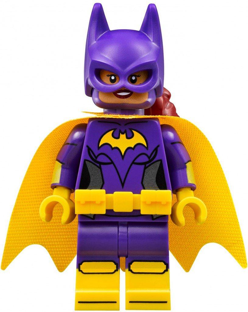 Lego Minifigure Batgirl yellow cape