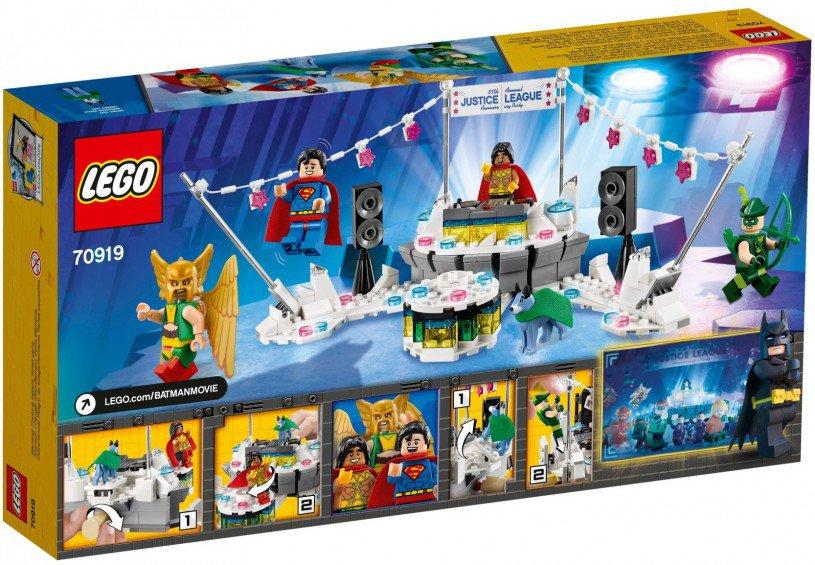 LEGO 70919 DC Comics Super Heroes: Het Justice League jubileumfeest