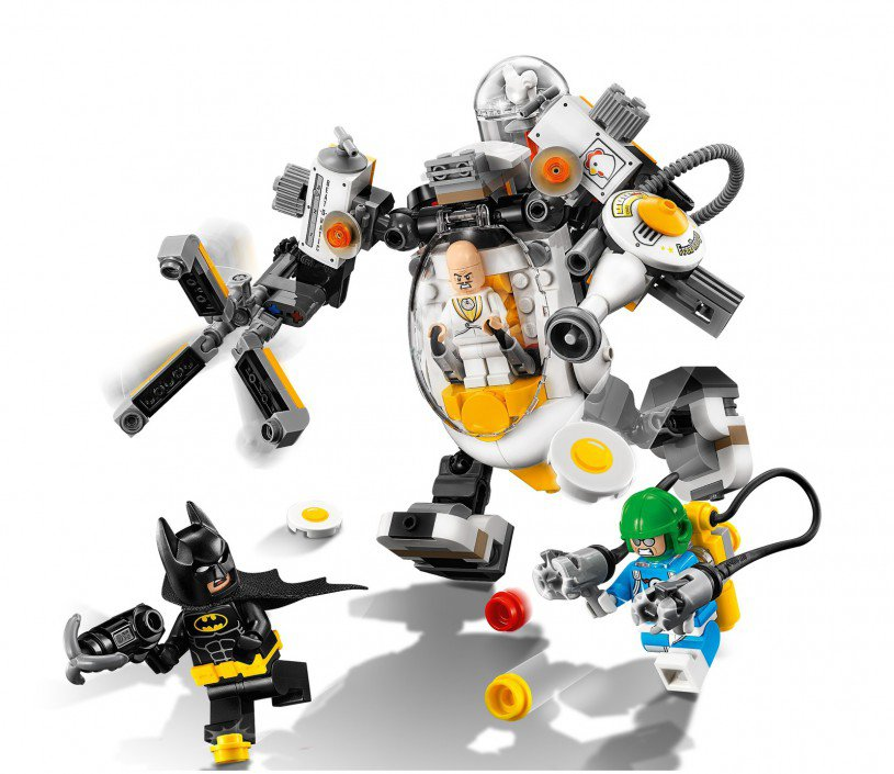LEGO 70920 DC Comics Super Heroes: Egghead mechavoedselgevecht
