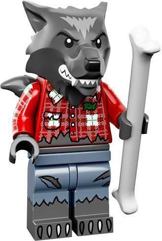 LEGO Minifiguren Serie 14 - Wolfenjongen