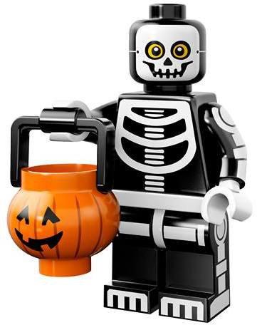 LEGO Minifiguren Serie 14 - Skeletman