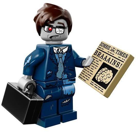 LEGO Minifiguren Serie 14 - Zombie Zakenman
