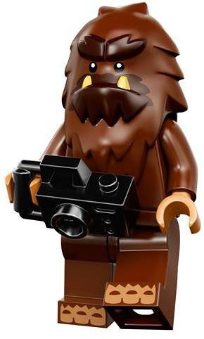 LEGO Minifiguren Serie 14 - Vierkantvoet