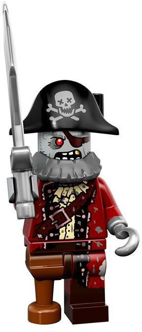 LEGO Minifiguren Serie 14 - Zombie Piraat