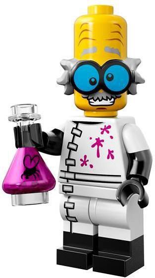 LEGO Minifiguren Serie 14 - Monsterwetenschapper