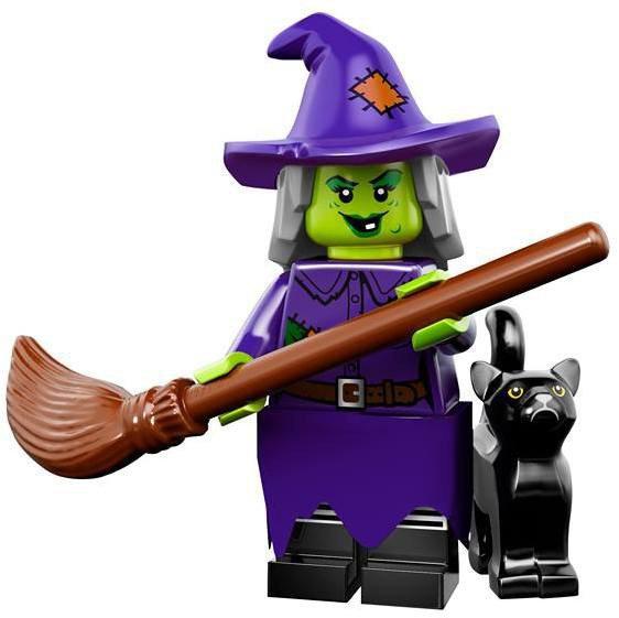 LEGO Minifiguren Serie 14 - Gekke Heks