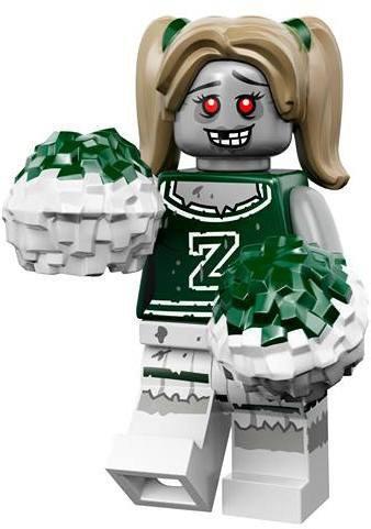 LEGO Minifiguren Serie 14 - Zombie Cheerleader