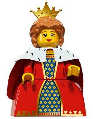 LEGO Minifiguren Serie 15 - Koningin