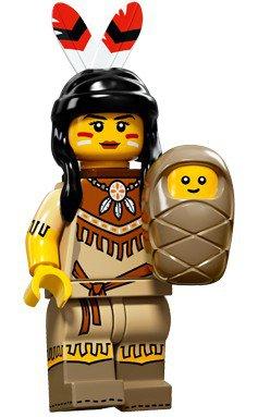 LEGO Minifiguren Serie 15 - Vrouwelijk Stamlid