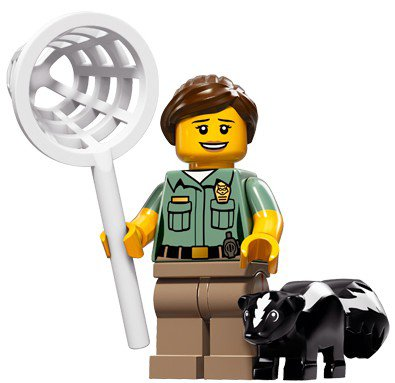 LEGO Minifiguren Serie 15 - Ongediertebestrijding