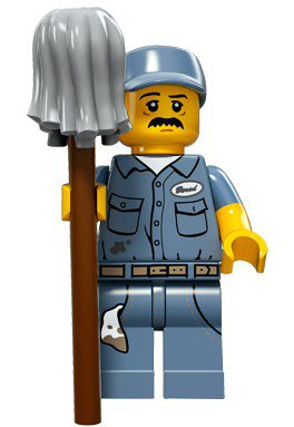 LEGO Minifiguren Serie 15 - Congiërge