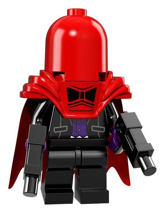 LEGO BATMAN Minifiguren Red Hood