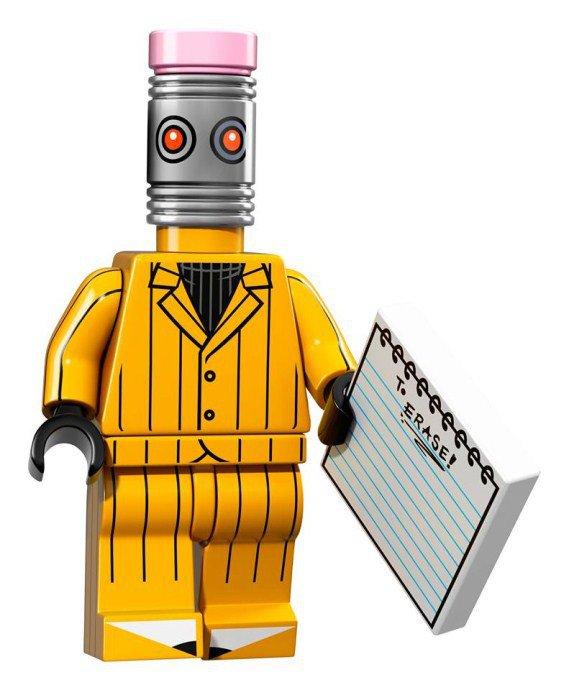 LEGO BATMAN Minifiguren Eraser