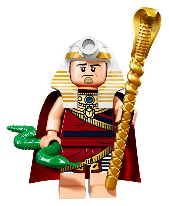 LEGO BATMAN Minifiguren King Tut