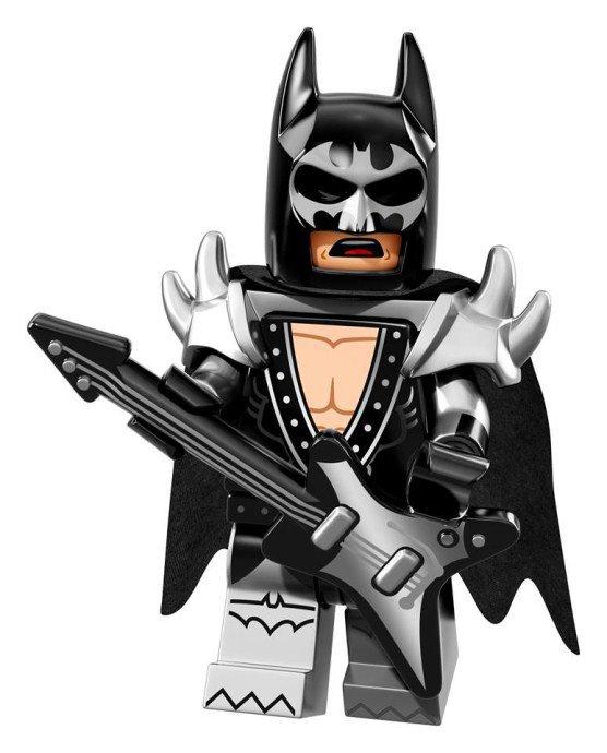 LEGO BATMAN Minifiguren Glam Metal Batman