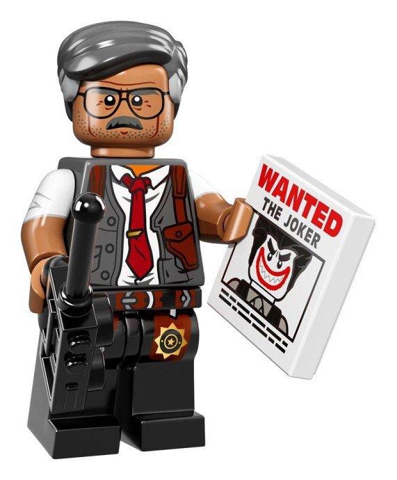 LEGO BATMAN Minifiguren Commissioner Gordon