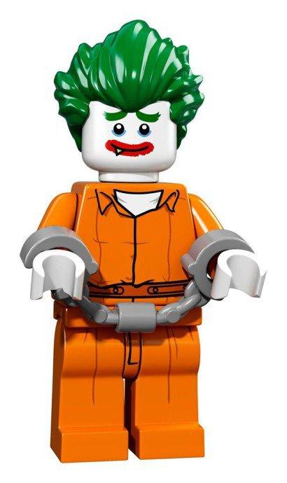 LEGO BATMAN Minifiguren Arkham Asylum Joker