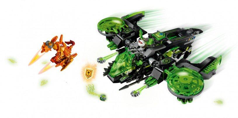 LEGO 72003 NEXO KNIGHTS: Berserkerbommenwerper