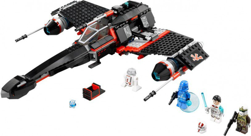 LEGO Star Wars - JEK-14's Stealth Starfighter 75018