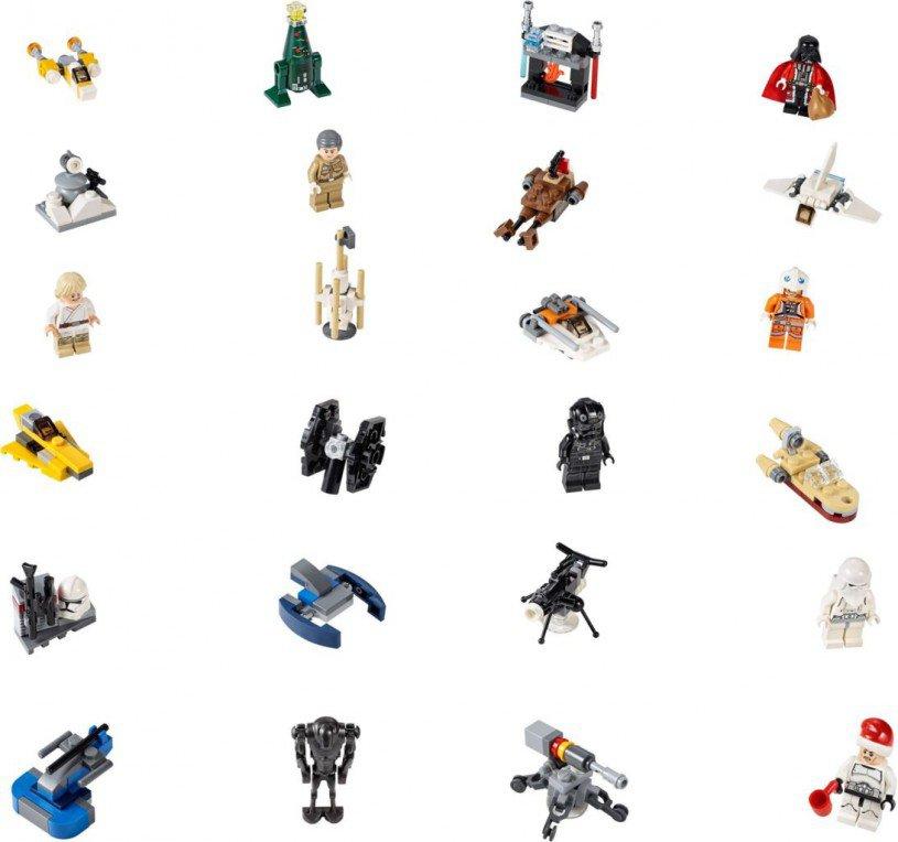 LEGO Star Wars - Star Wars Advent Calendar 2014 - 75056