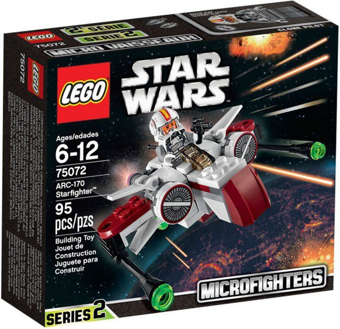 LEGO Star Wars - ARC-170 Starfighter 75072