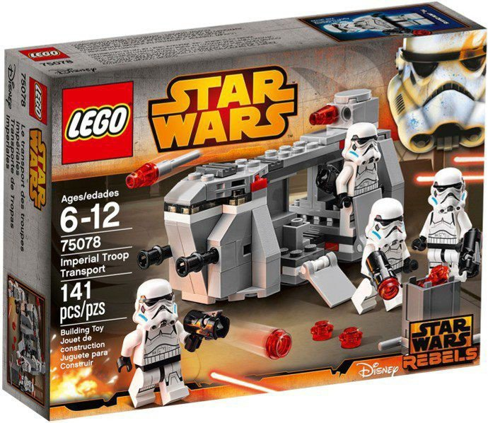 LEGO Star Wars - Imperial Troop Transport 75078