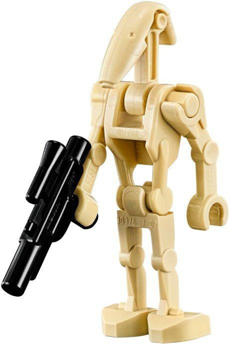 Battle Droid with 1 Straight Arm