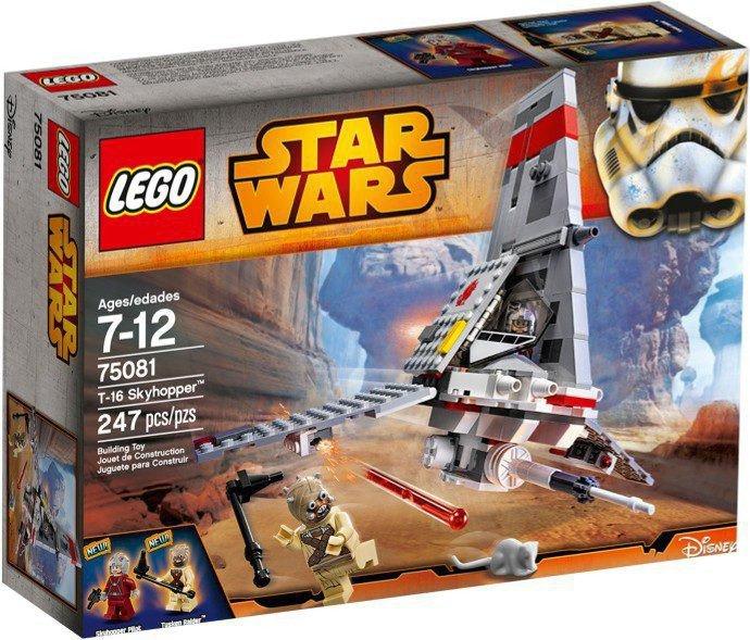 LEGO Star Wars - T-16 Skyhopper 75081
