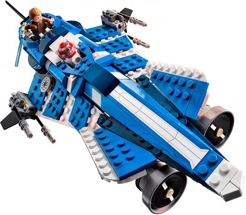 LEGO Star Wars Anakin's Custom Jedi Starfighter 75087