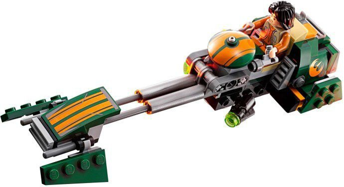 LEGO Star Wars - Ezra's Speeder Bike 75090