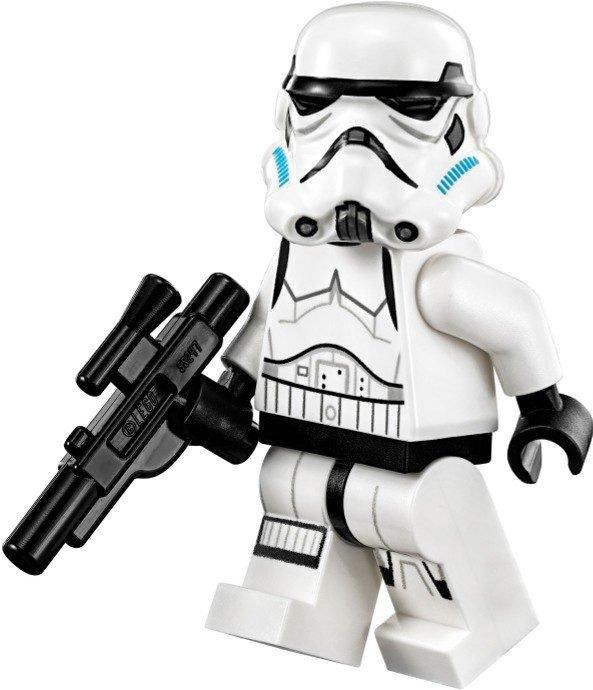 Stormtrooper (Printed Legs, Dark Azure Helmet Vents)