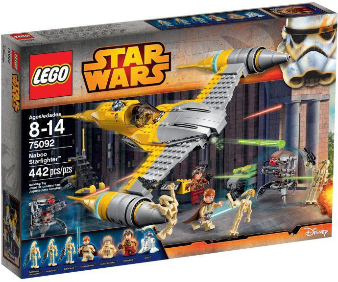 LEGO Star Wars - Naboo Starfighter 75092